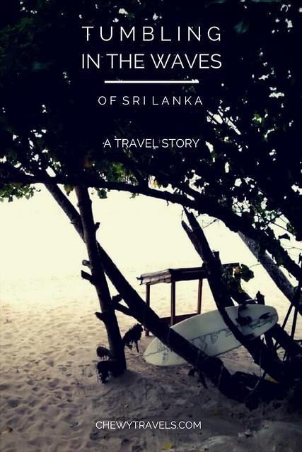 Tumbling in the waves of Sri Lanka-min
