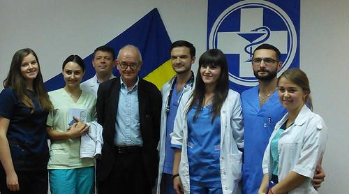 Британський нейрохірург— промедицину в Україні