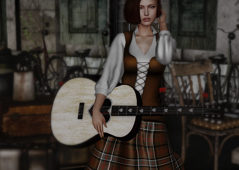 Guitar girl...