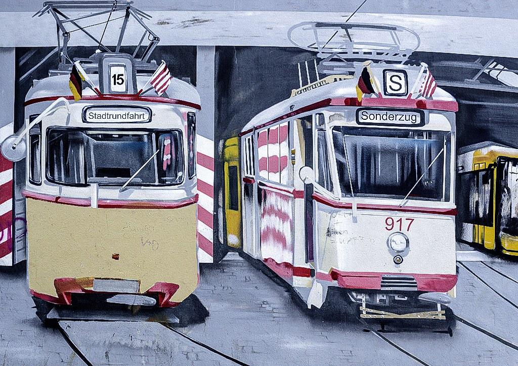Straßenbahnen Der Bsag Das Graffiti Ist Zu Finden Am Depot Flickr