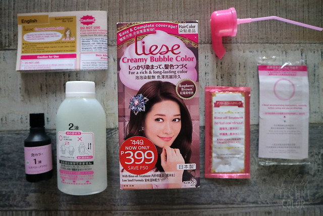 Liese Hair Color