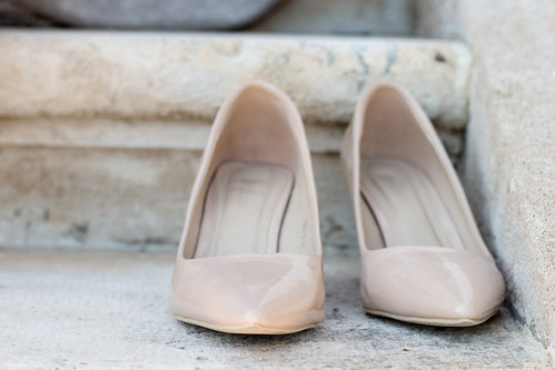 Nude high heel shoes | by wuestenigel