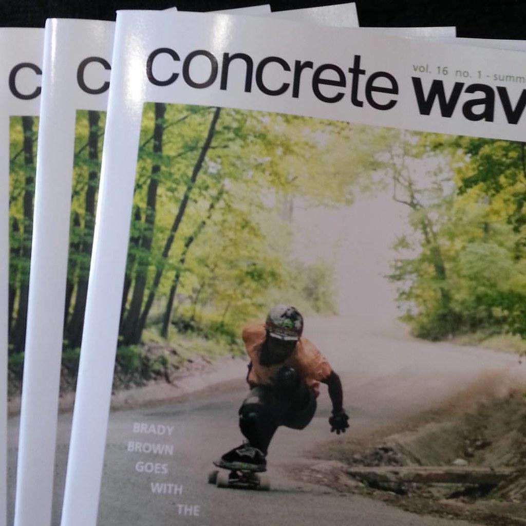 New Concrete Wave now in! #concretewave