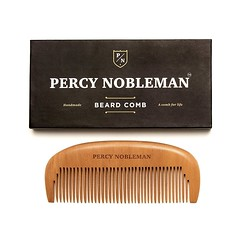 Best wooden beard comb by Percy nobleman