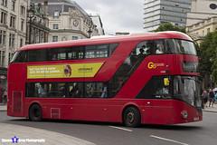 Wrightbus NRM NBFL - LTZ 1052 - LT52 - Aldwych 11 - Go Ahead London - London 2017 - Steven Gray - IMG_0940
