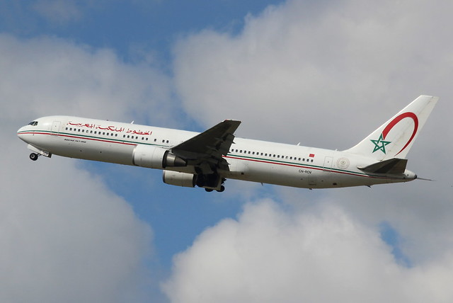 Royal Air Maroc B763ER, Canon EOS 600D, Canon EF 70-300mm f/4-5.6 IS USM