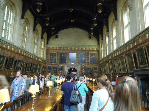 The Great Hall at Christ Church. From Studying Abroad in London: A Quick Stop in Oxford