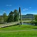 Aberfeldy Golf Club footbridge over The River Tay