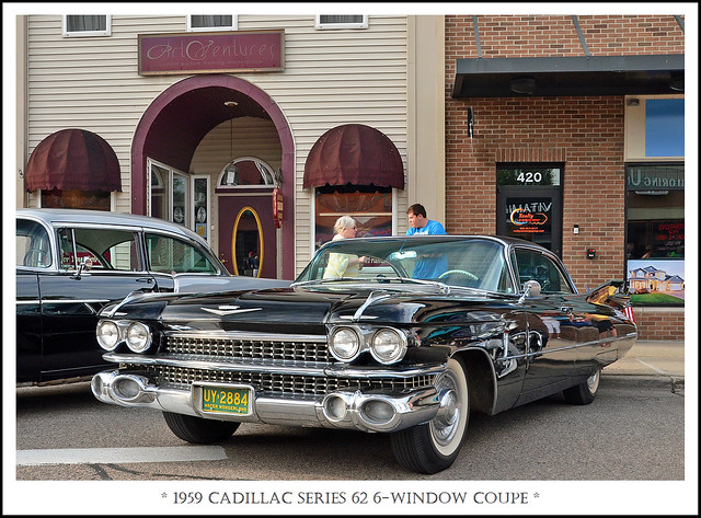 1959 Cadillac Series 62 6-Window Coupe