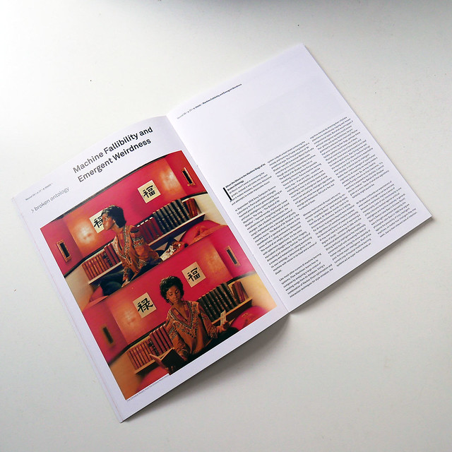 Machine Fallibility and Emergent Weirdness - Essay for Neural Magazine
