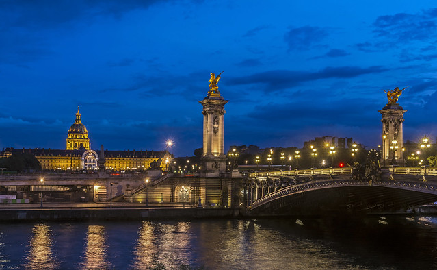 Les Invalides and the Pont Alexandre III