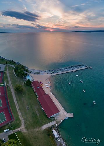 bay view sunset