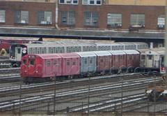 NYCT IRT Main Line R33s at 207 Street Yard