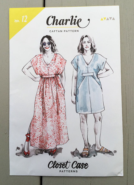 Charlie Caftan pattern envelope image