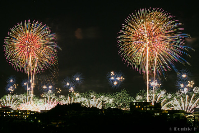 distant view of Biwako Fireworks Festival 2017 (21)