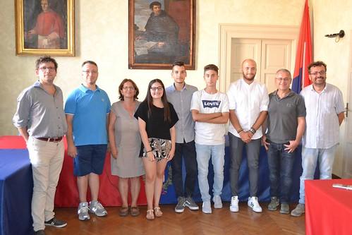Super maturi accolti e premiati dal Sindaco di Castel Bolognese