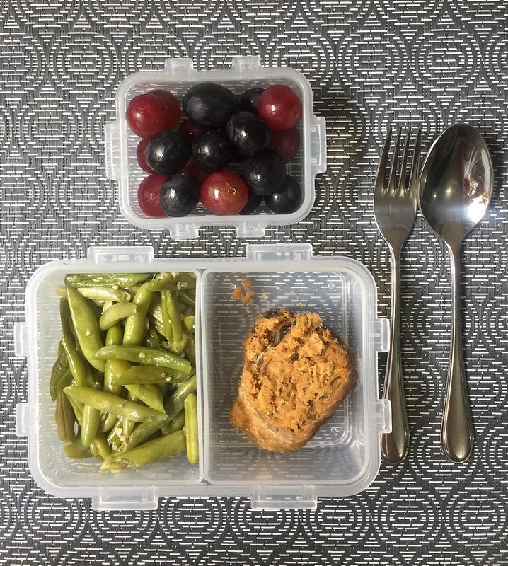 Beans, Rellenong Bangus, Grapes