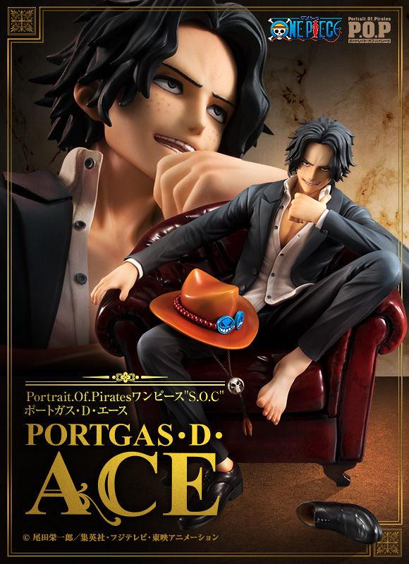 """狂野又帥氣的第5彈登場!Portrait.Of.Pirates《ONE PIECE》""""S.O.C"""" 波特卡斯·D·艾斯(ポートガス・D・エース)【部份通路限定】"""