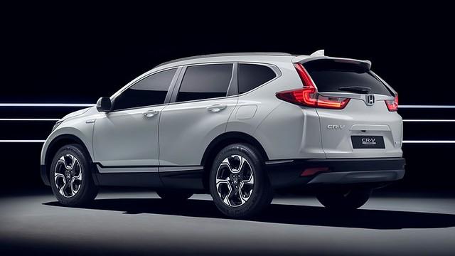 Honda CRV Hybrid Prototype 44#