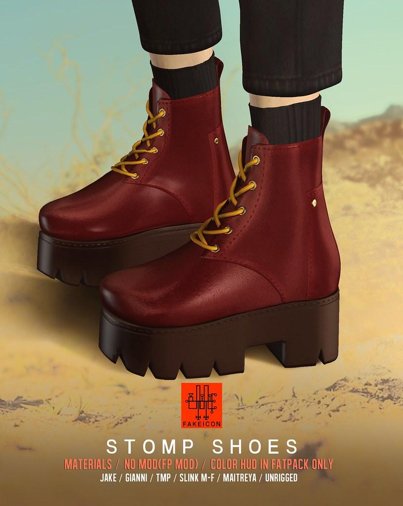 stomp shoes @ TMD - SecondLifeHub.com