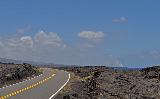 USA - Hawaii - Volcanoes National Park - lava fields
