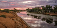 Murchison River sunset