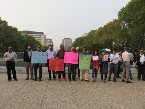 Rally Against the Massacred of the Rohingya Muslims in Burma