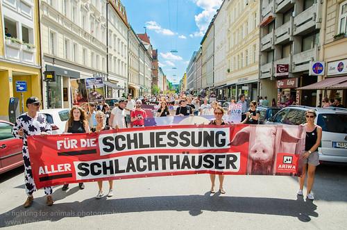 München für die Schließung aller Schlachthäuser 2017