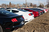 2016 Ford Mustang 16 muscle hardtop 2 door coupe gt base taillights tail lights new 16 by coconv