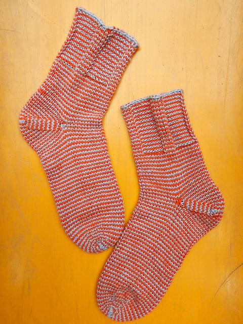 полосатые носки | striped socks - 7