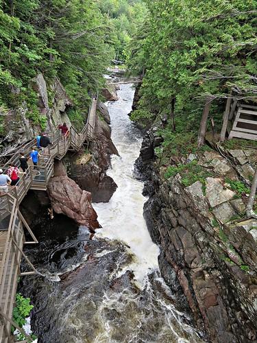 waterfall landscape scenery nature water river adirondacks