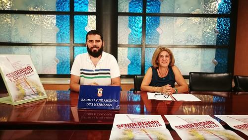 Delegación de Juventud presentación del programa Senderismo y Convivencia Joven Juan Pedro Rodríguez