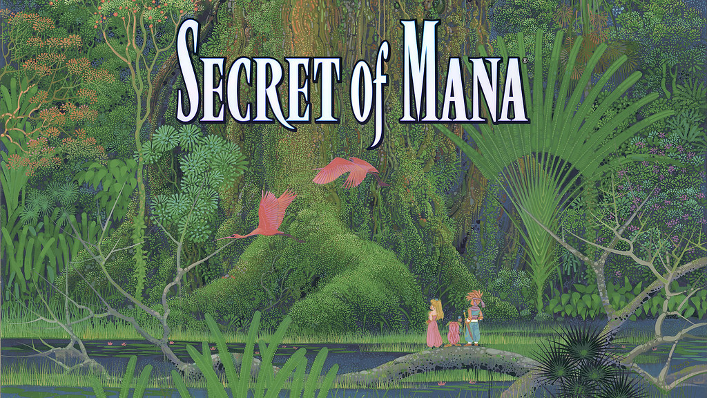 Secret of Mana for PS4 and PS Vita