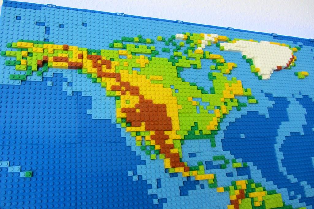 dirks LEGO world map 6 north america