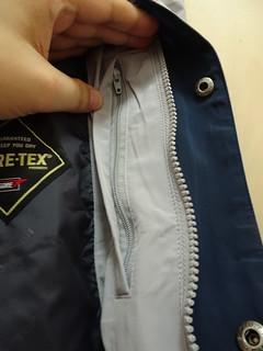 內側左胸的口袋