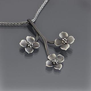 Dogwood Branch Necklace