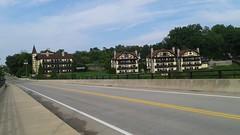 Bavarian Inn from the Bridge over Potomac, Shepherdstown, WV