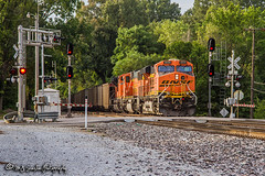 BNSF 5829 | GE ES44AC | BNSF Thayer South Subdivision