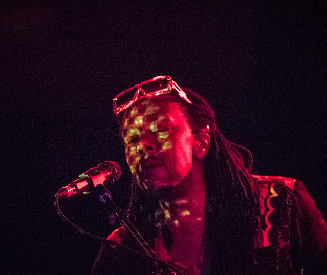 Shabazz Palaces (with Porter Ray) at the Ready Room, September 13, 2017