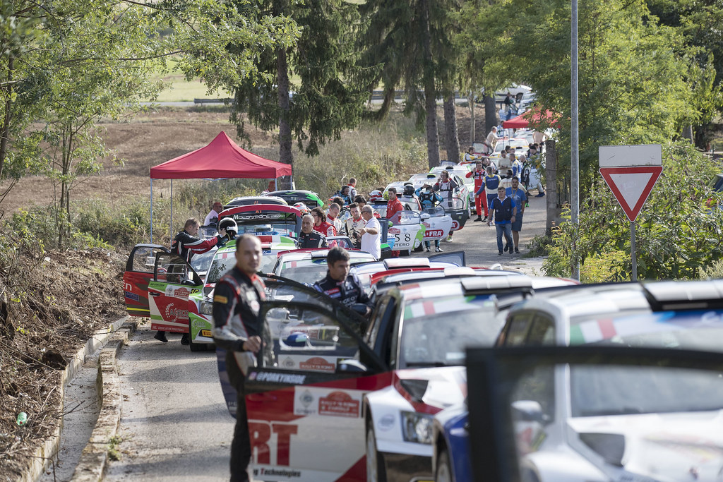 Illustration during the 2017 European Rally Championship ERC Rally di Roma Capitale,  from september 15 to 17 , at Fiuggi, Italia - Photo Gregory Lenormand / DPPI