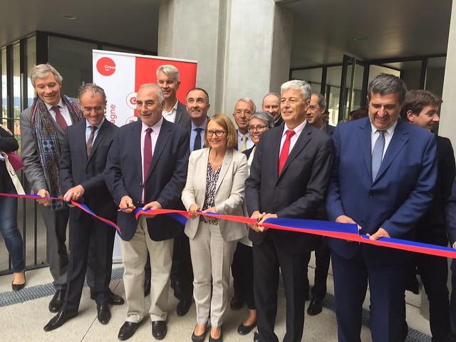 Inauguration de la nouvelle résidence universitaire La Duchère du Crous de Lyon