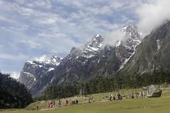Snow-Clad Himalayan Peaks