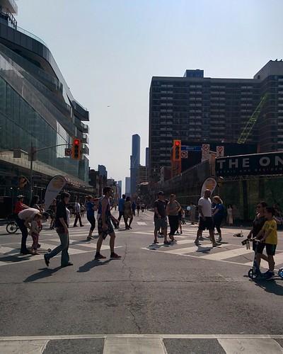Open Streets (1) #toronto #yongeandbloor #yongestreet #openstreetsto