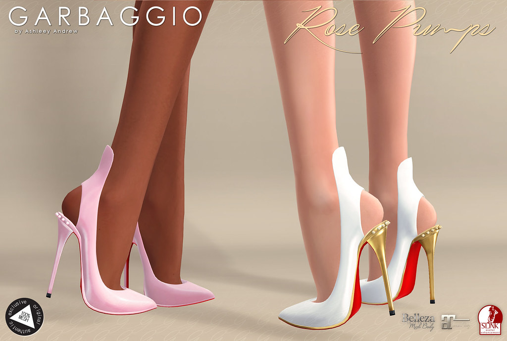 Rose Pumps - SecondLifeHub.com