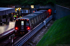 WMATA Metrorail Kawasaki 7000 Series #7134