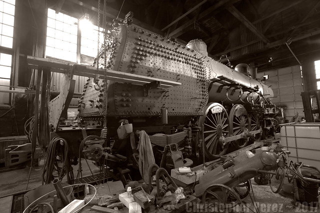 ORN197 ~ Steampower ~ old Brooklyn Roundhouse, Portland, Oregon
