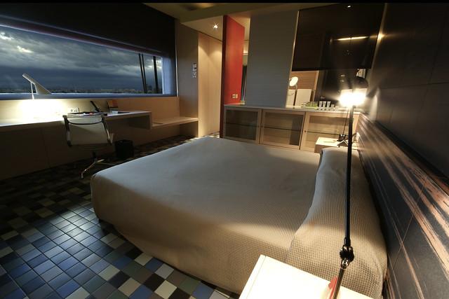 Hotel Silken Puerta América. Junior Suite 11ª Planta. Diseño Mariscal & Salas