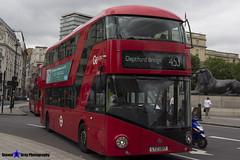 Wrightbus NRM NBFL - LTZ 1307 - LT307 - Deptford Bridge 453 - Go Ahead London - London 2017 - Steven Gray - IMG_0526