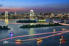 Tokyo Bay Twilight