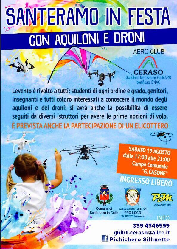 festa degli aquiloni e dei droni